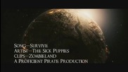 Zombieland - Survive Hd Music Video (hd)