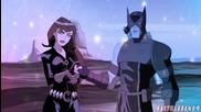 Героите Ястребовото Око и Черната Вдовица от анимацията Отмъстителите: Най-могъщите герои на Земята