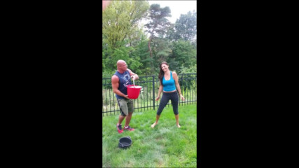 Giovanna Angles Icebucketchallenge for Als