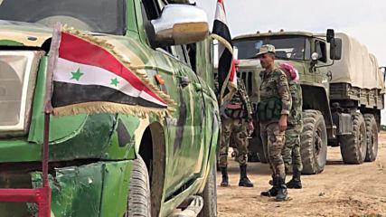 Syria: Syrian Arab Army advances in Hasakah countryside