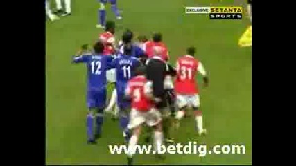 Chelsea - Arsenal Fight