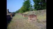 Хисаря стената Камилите казармени помещения