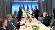 USA: Poroshenko meets Biden and Kerry at Nuclear Security Summit