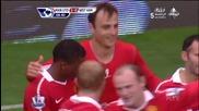 Феноменален гол на Бербатов срещу West Ham United Hd