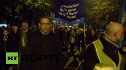 Germany: AfD supporters rally against govt's refugee 'problem'