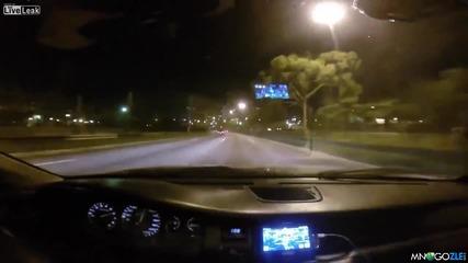 А тоя си мислеше , че кара бързо - смях