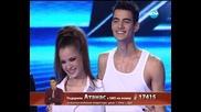X Factor - Нелина & Наско - Love The Way You Lie
