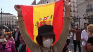 Spain: Dozens rally in Madrid against PM Sanchez for pandemic handling