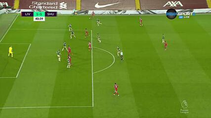 Ливърпул - Шефилд Юнайтед 1:1 /първо полувреме/
