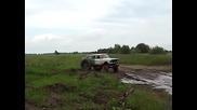 Moshkvich s zaden most ot traktor