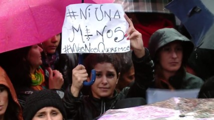 Argentina: Tens of thousands of women protest after fatal rape of teenager