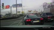 Пиян и много нахален руснак с Audi R8 се заяжда