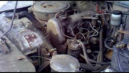 Уаз 469 с двигател на Мерцедес 123 200д