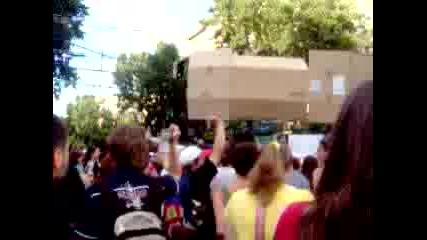 Протест За Опазването На Странджа