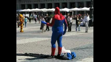 Спасете Spiderman