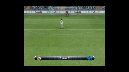 Real Madrid vs Olympique de Marseille - Penalty shoot [ Pes 2013 ]