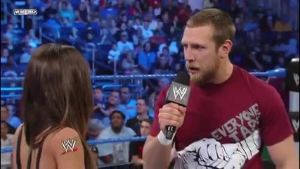 Aj Lee and Daniel Bryan - Сегмент Smackdown 06/04/12