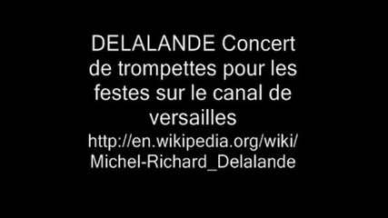 Delalande Concert De Trompettes 1