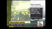 25.02.09 Ужас!! Турски Самолет Катастрофира В Амстердам (cnn)