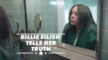 Here's why Billie Eilish won't pose in her underwear for #MyCalvins