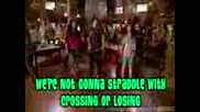 Camp Rock - Can t Back Down - Караоке / + суб./текст
