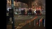 Ранени и арестувани след размирици в Белфаст
