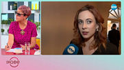 Весела Бабинова: Би ли си признала, ако харесва поп фолк песен - На кафе (30.04.2019)