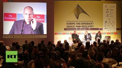 """Гърция: """"По-добре никога да не бяхме влизали в монетарния съюз"""" - Варуфакис"""