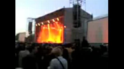 Marylin Manson In Sofia Bulgaria