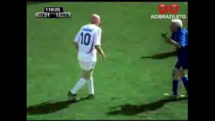 Zidane Vs. Materazzi ( Пародия )