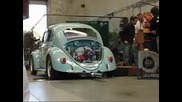 1961 Beetle with 2276cc engine on the dyno