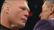 Brock Lesnar se zavarna 2013 Las Vegas i odari vince mcmahon