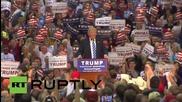 USA: Trump attacks Hillary Clinton, Bernie Sanders at Richmond rally