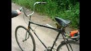 Какво се получи от колело + резачка + манерка