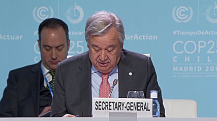 Spain: UN chief Guterres names top ten priorities to tackle climate change at COP25