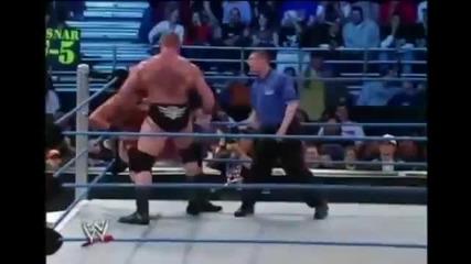 Brock Lesnar Vs A-train