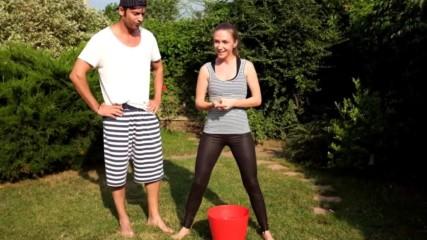 Adela Popescu - Ice Bucket Challenge
