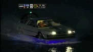 Delorean Boat at Mccovey Cove At&t Park