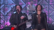 Невероятни!!! Fall Out Boy ft. Demi Lovato- Irresistible ( The Ellen Show ) 2016