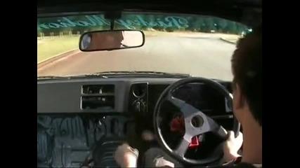 новак се учи да прави drift