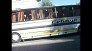 Автобуси Сетра S 215 H R и Темса Сафир в Омуртаг