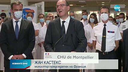 Скок на заразените с COVID-19 във Франция