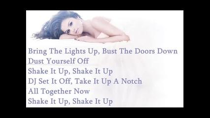 Shake It Up - Selena Gomez Lyrics