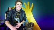 3oh!3 Ft. Ke$ha - My First Kiss ( Official video ) Hd
