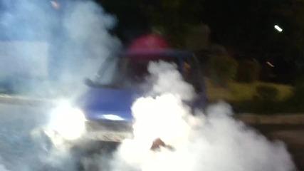 Daewoo Tico Burnout