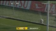 04.10 Аталанта - Милан 1:0 - Гол на Тирибочи