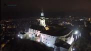Крепостта Нитра Словакия