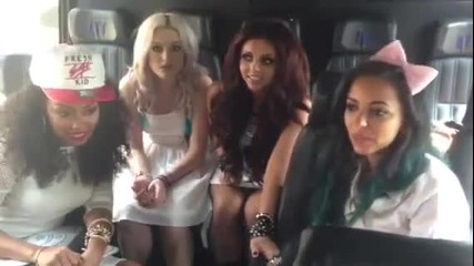 Little Mix - A message from the us