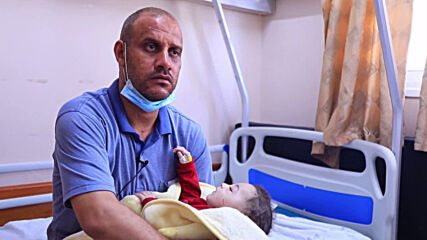 State of Palestine: Five-month-old baby survives Israeli airstrike that killed 10 in Gaza *DISTRESSING CONTENT*