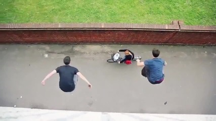 Awesome Parkour Compilation!!